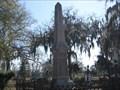 Image for Evergreen Cemetery Obelisk - Perry, GA