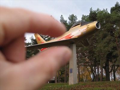 Bon Echo visited Canadair Sabre Mk V 23053