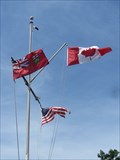 Image for Trident Yacht Club Nautical Flag Pole Gananoque ON