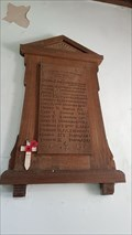 Image for Memorial Plaque - St Martin of Tours - Lyndon, Rutland