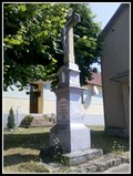 Image for Churchyard Cross (Chapel of the Holy Trinity) - Bykovice, Czech republic
