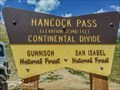 Image for Hancock Pass, CO (12,140)