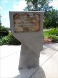 Image for Boulder City Plaque - Boulder City, NV