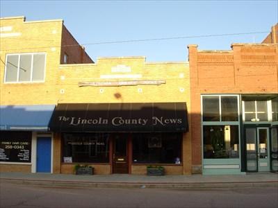 Lincoln County News Chandler Ok Newspaper Headquarters On Waymarking