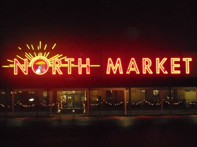 North market columbus oh neon signs on for Fish market columbus ohio