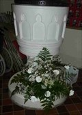 Image for Font, St Benedict Biscop, Wombourne, South Staffordshire, England