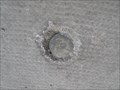 Image for Damaged Alberta Survey Control 9th Avenue and 11th Street - Calgary, Alberta