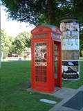 Image for Red telephone box Colombo Sreet, Christchurch, New Zealand