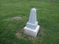 Image for Davis Children - Indian Creek Hill Cemetery - rural Montgomery County, IN