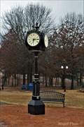 Image for Roye Park Clock - Stigler, Oklahoma