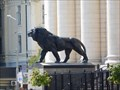 Image for Pair of Lions in front of the Court - Sofia, Bulgaria