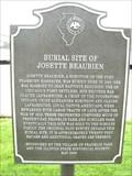 Image for Burial Site of Josette Beaubien - Franklin Park, IL
