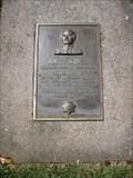 Image for Art Koch plaque - Fairfield, CA