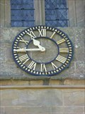 Image for Clock, St Peter & St Paul, Rock, Worcestershire, England