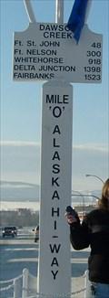 Image for Alaska Highway Mile 0 Post