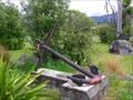 Image for Anchor on Settlers Corner. Turangi. North Is. New Zealand.