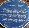 Image for St Thomas's Church - Monmouth, Gwent, Wales.