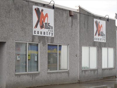 """CIXM - XM Country 105 FM"" - Whitecourt, Alberta - A.M./F ...