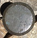 Image for U.S. Forest Reserve Boundary Post No. 21 - 1905