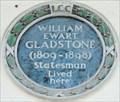 Image for William Ewart Gladstone - Carlton House Terrace, London, UK