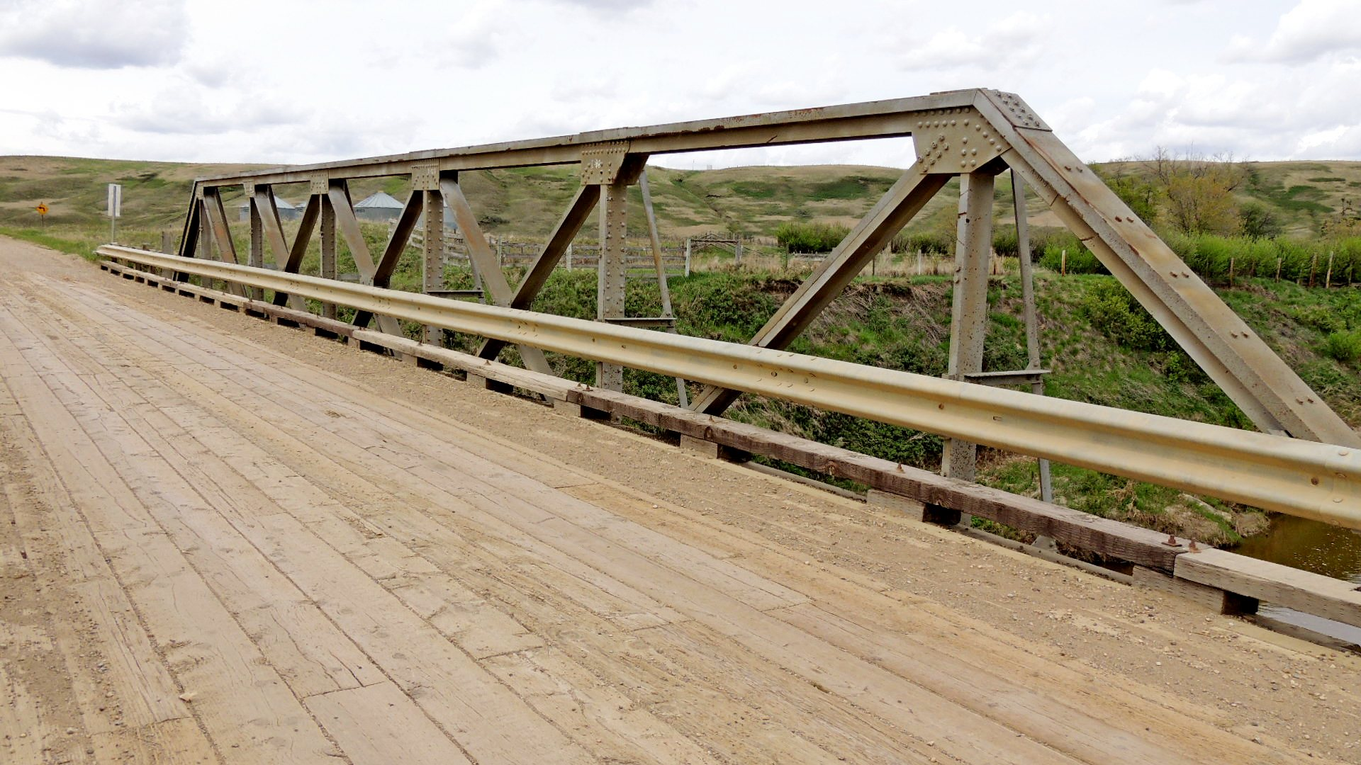 Range Road 225 Truss Bridge