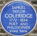 Image for Samuel Taylor Coleridge - Addison Bridge Place, London, UK