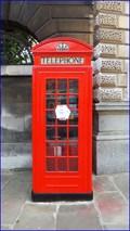 Image for Sherlock Holmes Phone Box - Giltspur Street, London, UK