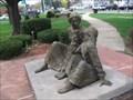 "Image for ""Water"" - Anne Sullivan and Helen Keller - Feeding Hills, MA 01030"