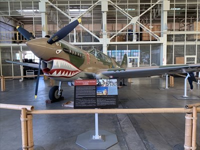 Curtis P-40E Warhawk, Ford Island, Pearl Harbor, Hawaii