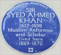 Image for Sir Syed Ahmed Khan - Mecklenburgh Square, London, UK