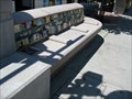 Image for Alum Rock VTA station seat - San Jose, CA