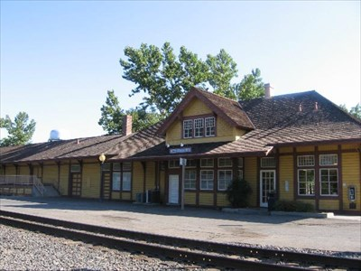 Chico Amtrak Depot Chico Ca Train Stations Depots On