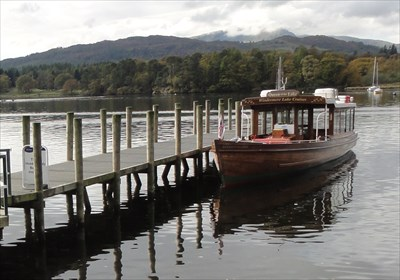 This steamer is used on the circuit of the north end of Lake Windermere, from Ambleside to Wray Castle and Brockhole.