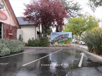 Naglee Park Welcome Sign Location, San Jose, CA