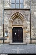 Image for Hlavní portál kostela Sv. Petra na Porící / Main portal of the Church of St. Peter at Porící (Prague)