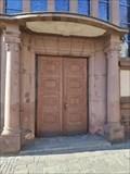 Image for Doorway Pfarrkirche St. Martin - Wasserbillig, Luxembourg