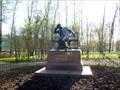 Image for 2208 Pushkin Asteroid and Alexander Pushkin Statue - Pushkin (Tsarskoe Selo), Russia