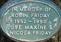 Image for Robin Friday - Walpole Park, Ealing, London, UK