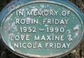 Image for Robin Friday - Walpole Park, Ealing, London, UK