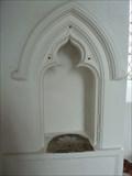 Image for Piscinas & Sedilia, St Mary's - Winfarthing, Norfolk