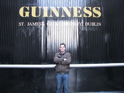 Me at one of the gates
