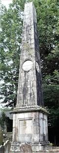 Image for Lord Henry Murray Memorial Obelisk - Old Kirk Braddan (Church of St. Brendan) Churchyard - Braddan, Isle of Man