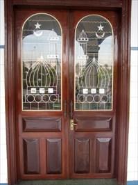 View waymark gallery. Mosque Masjid Al Ehsan Doors ... & Mosque Masjid Al Ehsan Doors - Chau Doc Vietnam - Doorways of the ...