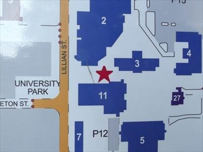 Tarleton State Campus Map.Tarleton State University Campus Map Stephenville Tx You Are