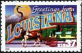 Image for 37¢ Louisiana Greetings From America Issue - New Orleans, LA
