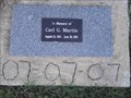 Image for Carl G. Martin Memorial Flagpole - West Fork AR