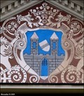 Image for Erb mesta Roudnice nad Labem na radnici / Roudnice nad Labem coat of arms on Town hall - Roudnice nad Labem (North Bohemia)