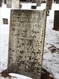 Image for Thomas West - Baptist Church Cemetery - Castle Creek, NY