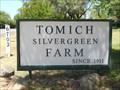 Image for Tomich Silvergreen Farm -- Orangevale CA
