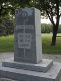 Image for War Memorial - Kildonan Park - Winnipeg MB